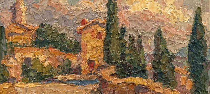 Tascany Oil Painting